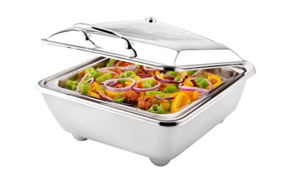 方形亚热包体餐炉(带电热板)