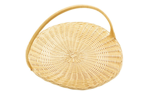 带提手圆形面包篮
